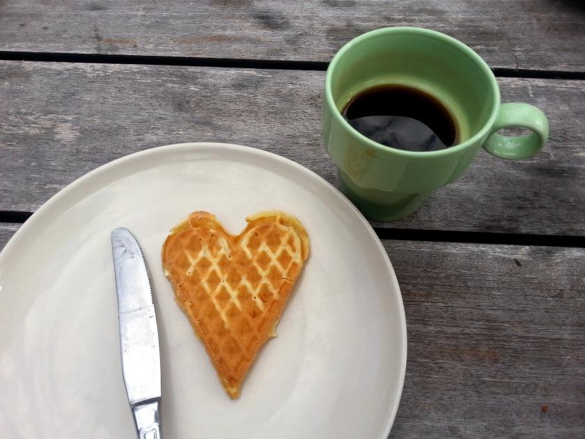 heart waffel